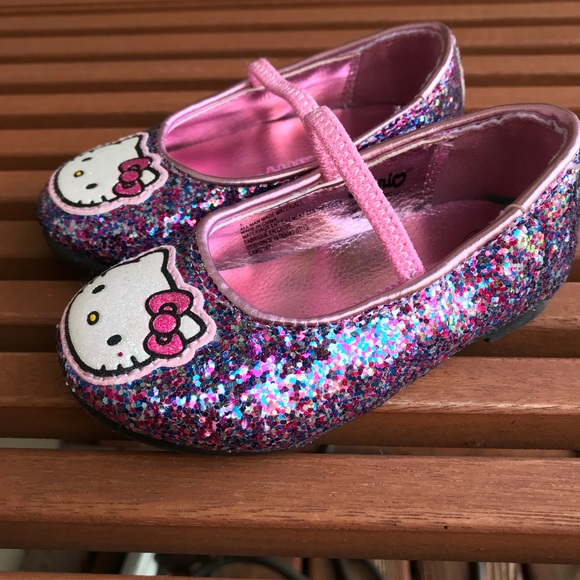 Hello Kitty Shoes Hello Kitty Shoes | Glitter Toddler Size 5 | Poshmark